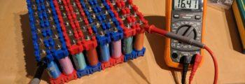 Finishing my DIY Li-Ion Battery build