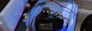 D5100 running off the main power supply